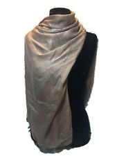 New Beige Scarf Or Wrap Chiffon Feel And Look