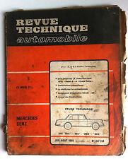 RTA du 7/1968; Mercedes Benz/ Evoluion Kadett B et Coupé Rallye