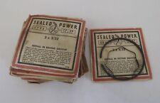 Vintage OEM Sealed Power Piston Ring Lot of 14 Type TF-30 3 x 3/32 Hudson