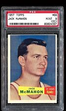 1957 Topps #66 *JACK McMAHON* MINT PSA 9 (oc) pop 1 of 1! Ultra Rare! set break