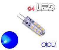 1 ampoule G4 360° 24 LED Bleu Intérieur éclairage Camping Car Bateau Caravane
