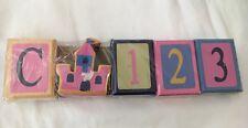 Pink Castle Decorative Blocks