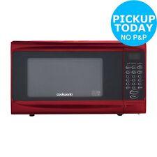 Cookworks P70b 700w Standard Microwave Red