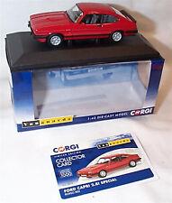 VANGUARDS FORD Capri 2.8i Special Rosso Red RHD UK VA10816 ltd ed