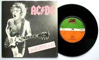 "EX/EX AC/DC Jailbreak / Fling Thing 7"" Vinyl 45"