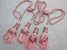 RECOGE CORTINAS BORLAS 2 Uds. color ROSA