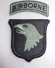 ARMY PATCH, 101ST AIRBORNE DIVISION, ACU, WITH hook tape