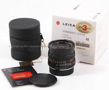 @Mint- in box@ LEICA SUMMICRON-R 35mm f/2 E55 ROM edition Lens