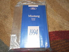 1994 FORD MUSTANG GT COBRA ALL NEW CORRECT FACTORY OWNERS OPERATORS MANUAL NICE!