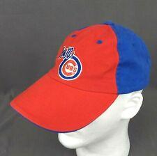 Iowa Cubs Strapback Hat Red Blue Minor League Baseball Cap Emboridered