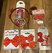 Back To School Red Hair Accessories Bundle