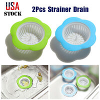 4.5'' Plastic Kitchen Sink Strainer Drain for Catching Food Particles 2 PCS