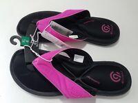 Girls Marguerite Sport Memory Foam Flip Flop Sandals - C9 Champion - Pink - NWT