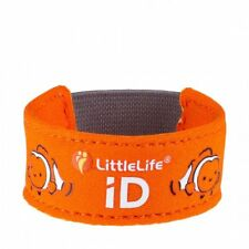 Littlelife Child ID Bracelet - Safety wristband with ID Slips - Clownfish
