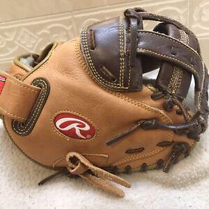 """Rawlings CHCMFPY Women's Youth  32"""" Fastpitch Softball Catchers Mitt Right 🤚"""
