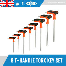 8pcs T-Handle Torx Key Set Star Key Screwdriver Set Size T10 T15 T20 T25 T27 T50