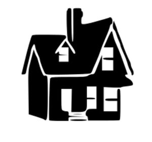 DISNEY UP HOUSE ONLY STENCIL REUSABLE FROM A4 180 micron