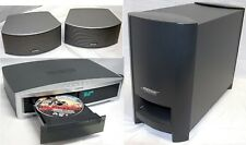 Bose 3-2-1 GS Series II A/V DVD Home Theatre System Set 2.1-Speakers + Sub 321 C