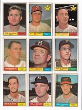 ***1961 Topps #216 Ted Bowsfield BV$3! No creases, Slightly soft corners***