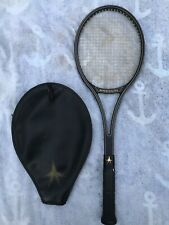Vintage Kneissl World Star Comp Tennis Racket with Cover - Grip Sz 4-3/8