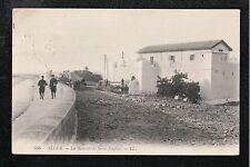 L@@K  Alger ~ La Batterie de Saint Eugene France 1911 Postcard  L@@K