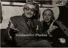Paul irreflexivas & mujer en París, original-photo de 1960
