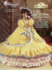 Denise of Albuquerque Ladies of Fashion Crochet Gown Pattern for Barbie Doll NEW