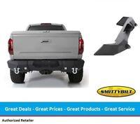Smittybilt M1 Rear Bumper w/ D-Ring Mounts & Light Kit for Toyota Tundra (14-17)