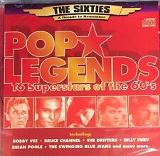 POP LEGENDS - VARIOUS ARTISTS CD - 60's BOBBY VEE BILLY FURY  GIFT