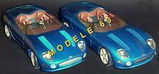 JAGUAR XK 180 CONCEPT CAR 1999 ( lot 2 modèles différents) / 1/18 / MAISTO 31867