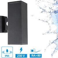 Applique Murale LED Projecteur Mural IP65 12W Noir Extérieur