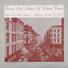 Max Dunbar - Poems & Letters of Robert Burns [New CD]