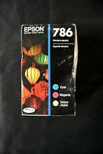 Epson DuraBrite Ultra 786 Color Ink CYM Combo Pack 03/2021