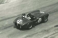 Vintage 8x10 1963 IRP Bob Johnson Cobra No. 33