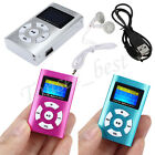 USB Mini Digital MP3 Music Player LCD Screen Metal Support 32GB Micro SD TF Card