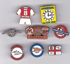 Collection Of 8 Arsenal Badges