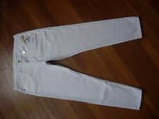 NWT WOMENS $110 MICHAEL KORS WHITE SKINNY STRETCH ANKLE DENIM JEANS SIZE 10