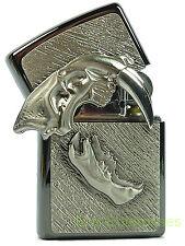 Zippo Säbelzahntiger Sabbertooth Emblem limited Edition in Rahmen 2003809 Neu