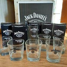 More details for jack daniel's no7 glasses 6 boxed hi ball 6 tumblers whisky man cave home bar