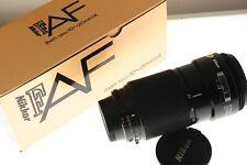 Nikon AF Nikkor 70-210mm f/4 zoom lens. MINT- boxed condition. Pro grade lens!