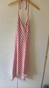 Womens Designer Billabong Halter Summer Dress Size 3 BNWT RRP £45