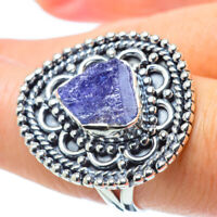 Tanzanite 925 Sterling Silver Ring Size 7.75 Ana Co Jewelry R31723F