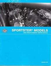 2005 Harley Sportster XL883 XL1200 Repair Service Workshop Shop Manual 99484-05