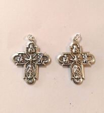 Cross medal/pendant, 2 pieces