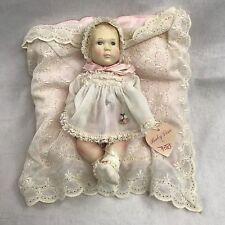 """Vintage 1980 Effanbee By Astri Doll  """"Baby Lisa"""" 10"""" Vinyl"""