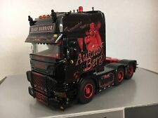 WSI 1:50 Scania Topline 6x2 Black Warrior Autohof Berg 02-1648
