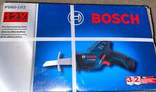 Bosch PS60-102 12V Lithium Ion Cordless Pocket Reciprocating Saw Kit New
