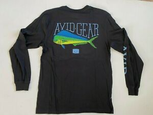 Avid Fishing Gear New Men's Medium Mahi Long Sleeve T-Shirt