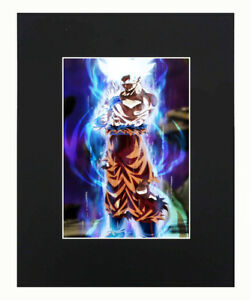 Dragon Ball Son Goku Super Z Ultra Instinct Print Picture poster 8x10 U.S.Seller