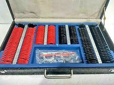 New Trial Lens Set Case With Frame Optical Plastic Rim Optometry 172 Pcs